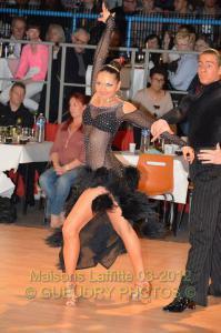 Anaïs en danses latines